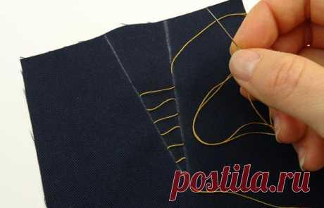 Как смётывать и сшивать вытачки   ШЬЮ САМА