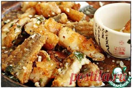 Рыба в чесночно-сливочном соусе – кулинарный рецепт