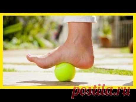 Плантарный фасциит: как теннисный мяч поможет облегчить боль?