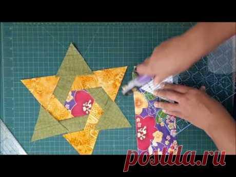 Patchwork Facil - Estrela de Davi