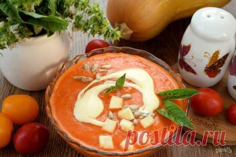 Суп из томатов и тыквы. Согревающий. Статьи на Повар.ру
