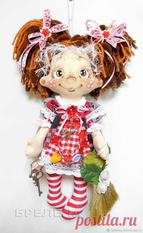 Авторская текстильная кукла Домашняя феечка Хозяюшка – купить на Ярмарке Мастеров – NY14KRU | Куклы и пупсы, Месягутово