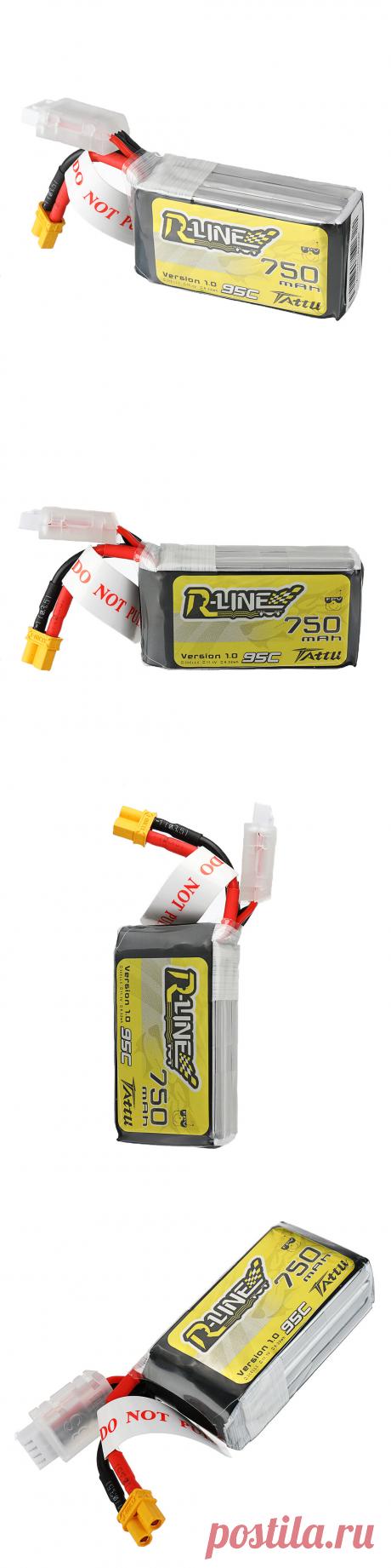 tattu r-line 1.0 11.1v 750mah 95c 3s lipo battery xt30 plug for eachine lizard95 fpv racer Sale - Banggood.com