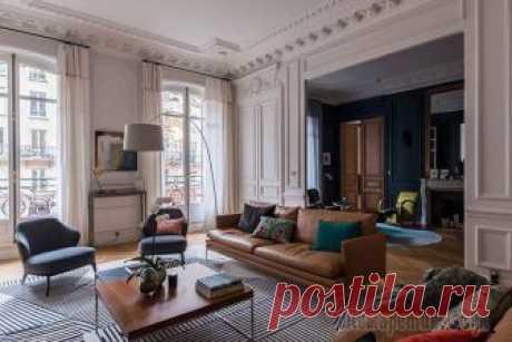 Квартира с витражным окном и необычными обоями в Париже Эта просторная квартира в 7 округе Парижа недавно пережила глобальную реновацию, и здесь, действительно, есть на что посмотреть! Во-первых, здесь дизайнеру здорово удалось сочетать классику и современ...