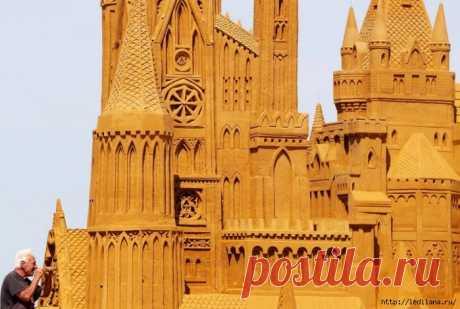 Фестиваль песчаных скульптур в Бельгии и СПб