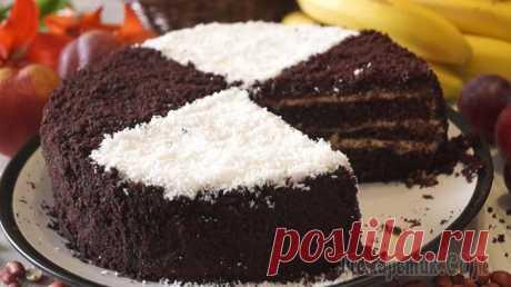Быстрый шоколадный торт «На раз, два, три» Быстрый шоколадный торт «На раз, два, три», для его приготовления требуется сделать всего три вещи: смешать сухие ингредиенты, затем добавить к ним жидкие, вылить все в форму и отправить выпекаться. П...