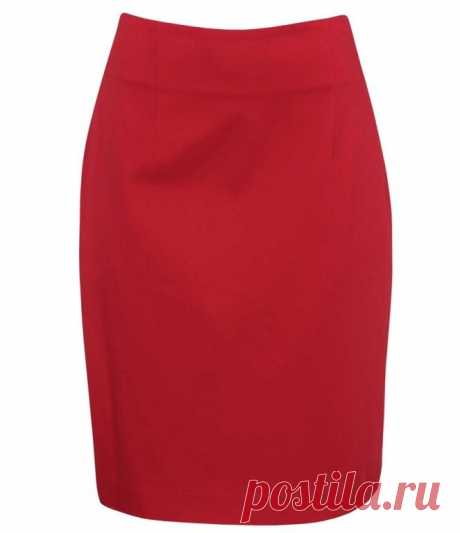 El patrón de la falda recta simple de 36 hasta 54 dimensiones del euro (la Costura y el corte) — la Revista la Inspiración de la Laborera