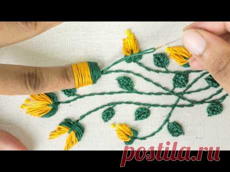 Amazing Hand Embroidery: Learn Flower Ideas with Tricks