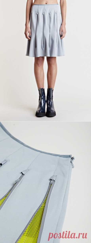 Две юбки с молниями Junya Watanabe / Юбки и их переделки /