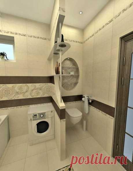 15 идей дизайна ванной комнаты для тех, у кого маленькая квартира