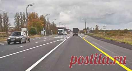 Желтая сплошная на правой стороне дороги — что она означает? | Рекомендательная система Пульс Mail.ru