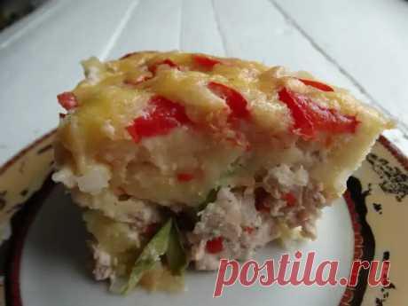 Необычный кабачковый пирог. (Пока были кабачки, готовила чуть ли не каждую неделю) - Ваши любимые рецепты - медиаплатформа МирТесен