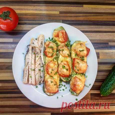 Запеченные кабачки пп Автор рецепта Дарина - Cookpad