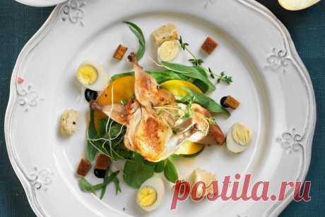 Салат с перепелкой рецепт – европейская кухня: салаты. «Еда»