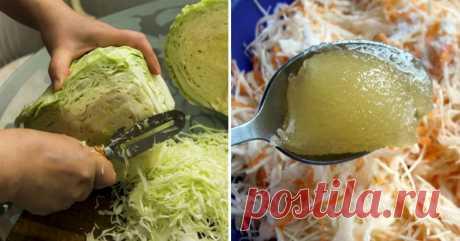 Простые блюда из капусты