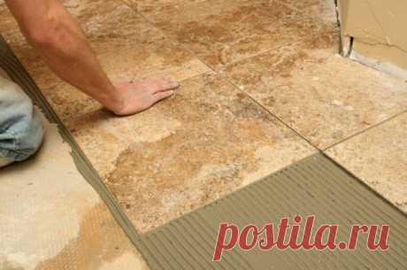 Правила укладки керамической плитки Напольная плитка является распространенным строительным материалом, который используется для облицовки пола в ванных комнатах, на кухне и во многих других помещениях. Технология монтажа плитки их керамики достаточно простая...