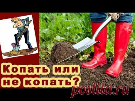 Si es necesario cavar la huerta. Las tierras Perekopka en primavera. Ploskorez Fokin Video