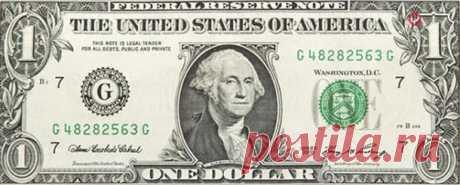 Какие загадки таятся на 1-долларовой американской купюре?