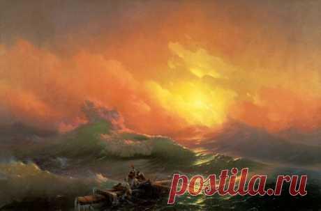 Потрясающие картины Айвазовского.