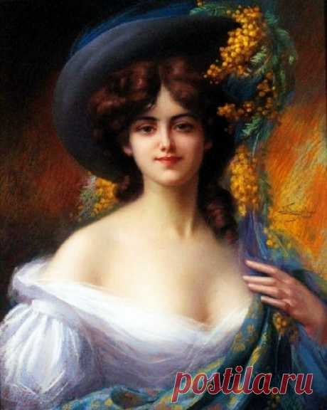 Снимите шляпы, господа, Пред вами в шляпке – дама… - Картинки для декупажа