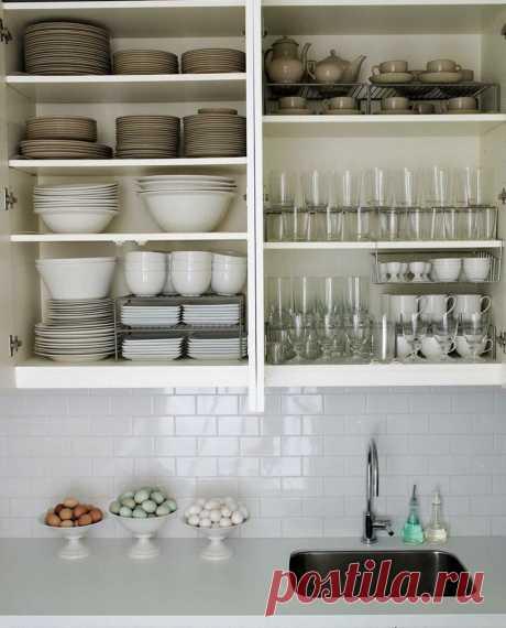 Как навести порядок на кухне навсегда: пошаговый план действий по организации разумного хранения.