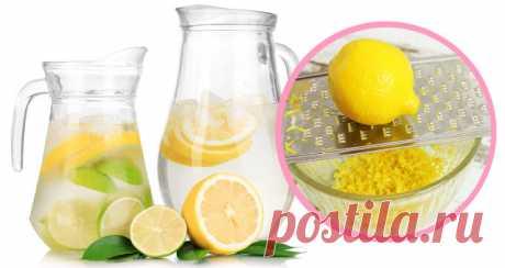 Как правильно приготовить лимонную воду - Стильные советы