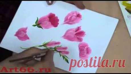 тагильская роспись Видео! - www.fassen.net-Видео сёрфинг