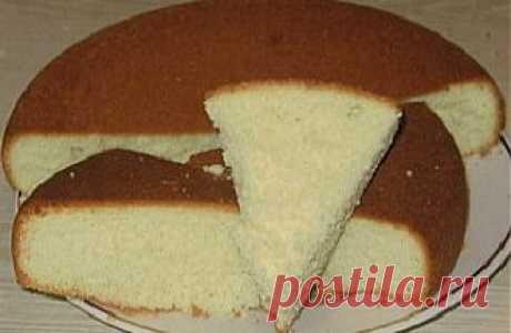 """Нежный бисквит """"по-индийски"""" без яиц / Пироги и пирожки / TVCook: пошаговые рецепты c фото"""