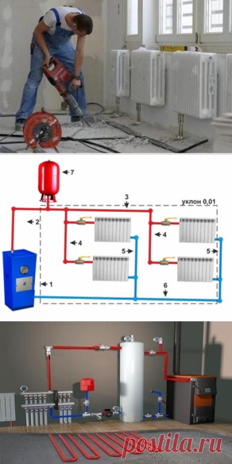 Как сделать отопление в частном доме правильно самому