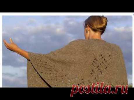 Фарерская  датская шаль вместо жакета и кардигана