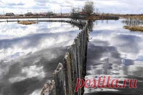 El agua ha llegado (8 fotos) | el Diablo toma la crecida Primaveral se hacía la causa del anuncio del régimen de la emergencia en tres esferas — De Tyumen, De Omsk y De Kirov. Los centenares persona han perdido las casas. En la región de Novosibirsk la emergencia no es declarada. Pero, por ejemplo, la aldea Pihtovka de la región Kolyvansky se ha convertido en el lago después de la elevación del agua en el río el Dólar. Hasta cuando bajará el agua, en estas casas de la ciudad Ishim no es posible ya vivir. En la región de Tiumen 140 personas, incluso es puesto...