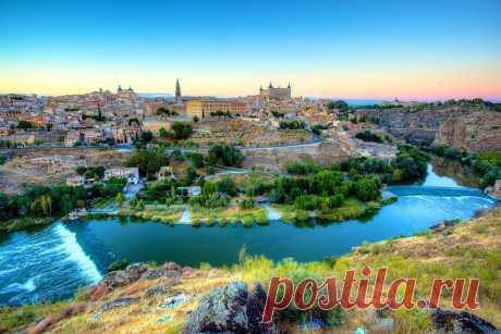 Средневековый город Толедо. Кастилия-Ла-Манча. Испания