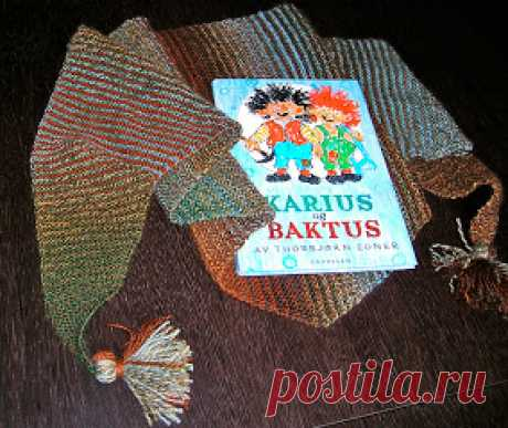 Baktus - a fashionable triangular Norwegian scarf