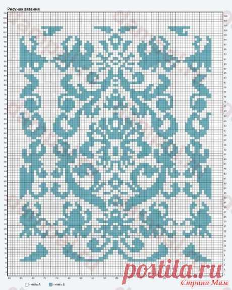 . Жаккардовые подушечки - Вязание - Страна Мам