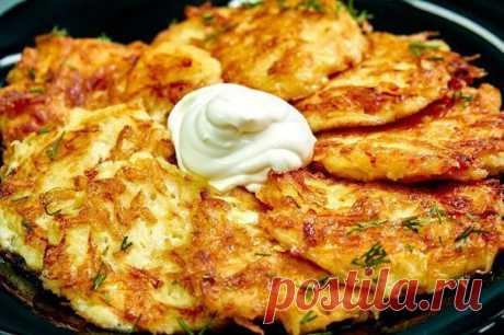 Картофельные драники | Самые вкусные кулинарные рецепты