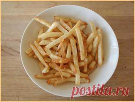Пошаговый рецепт приготовления картофеля фри