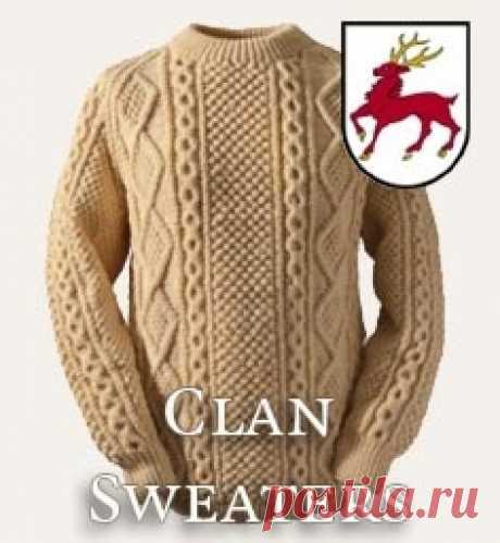 Fisherman sweater & Men's Irish wool sweater | Clanarans
