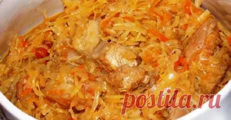 Рецепт вкусного бигуса из свежей капусты и говядины Очень вкусное блюдо. Для приготовления вам потребуются такие ингредиенты: — капуста белокачанная, 1 шт; — говядина, 400 г; — лук, 2 шт; — морковь, 1 шт; — помидоры, 2 шт; …