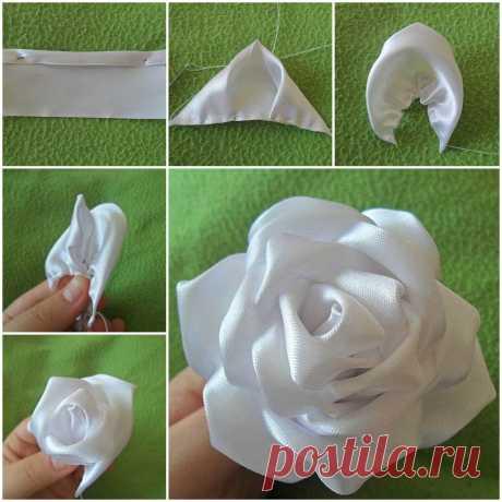 Los artículos de las cintas de seda de la Rosa