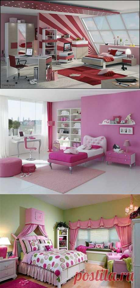 25 идей дизайна комнаты для девочки подростка.