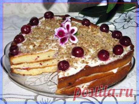Торт сметанник. Рецепт. Сметанник в мультиварке | Вкусная еда