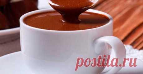 Горячий шоколад с корицей | Кулинарный портал