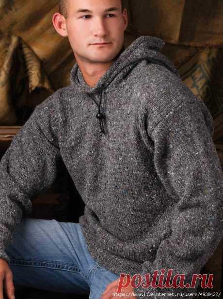 Мужской джемпер с капюшоном (худи). His Favorite Hoodie by Shannon Mullett-Bowlsby.