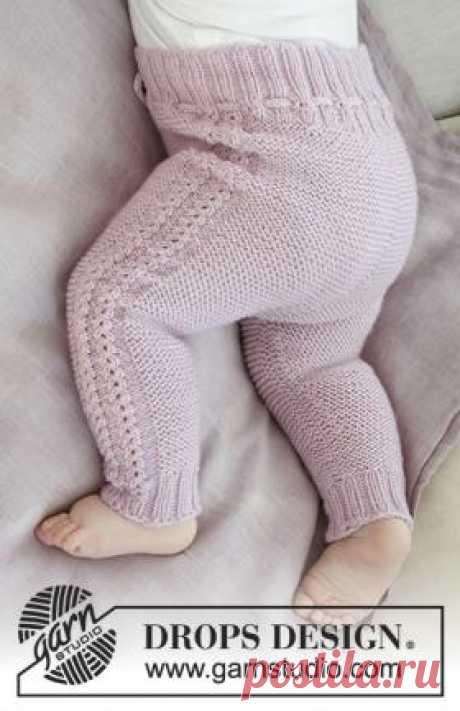 Штаны Хеллоу Киттен Чудесные штаны для малыша, связанные на спицах 3 мм из тонкой мериносовой шерсти. Вязание штанов выполняется по кругу сверху вниз...