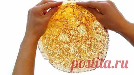 Тонкие блинчики с дырочками без соды, разрыхлителя и дрожжей – пошаговый рецепт с фотографиями