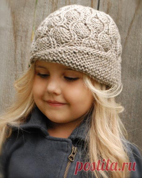 Вязаная шляпка Harmony | ДОМОСЕДКА