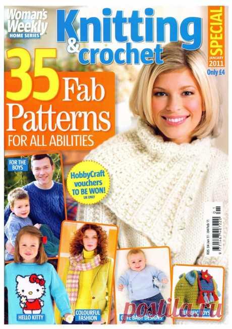 Woman's Weekly Knitting & Crochet №1 2011