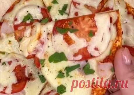 (13) Пицца за 5 минут 😻 - пошаговый рецепт с фото. Автор рецепта Камилла . - Cookpad