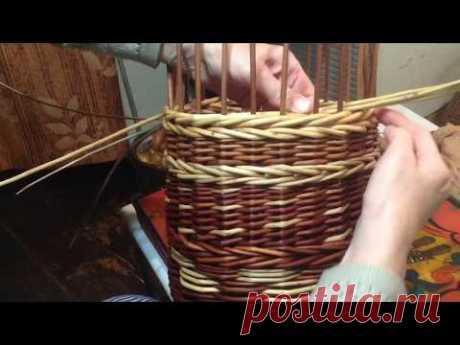 Плетение цепочка( прямая+обратная верёвочка).