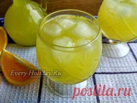 Сок из 4 апельсинов 9 литров, рецепт с фото пошагово